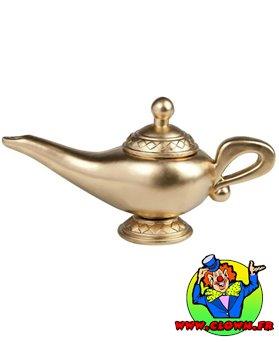 Lampe aladdin dorée