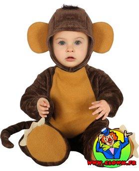 Déguisement de Petit singe bébé