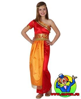Déguisement hindou fille