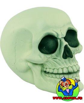 Crâne résine phosphorescent