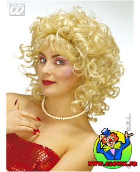 Perruque Milly blonde