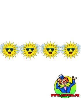 Guirlande soleil