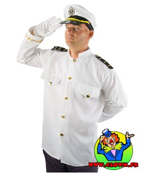Déguisement adulte luxe capitaine