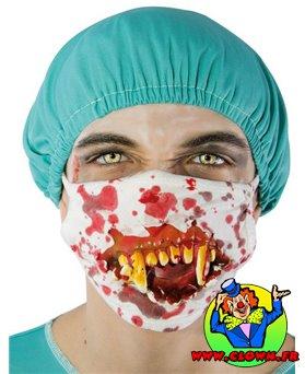 Masque de chirurgien horreur sanglant