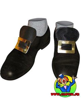 Boucles de chaussures en métal